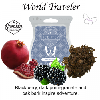 World Traveler Scentsy Bar