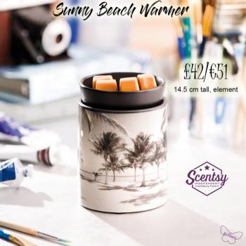 Sunny Beach Scentsy Warmer