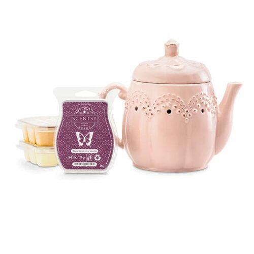 Scentsy Vintage Teapot Bundle