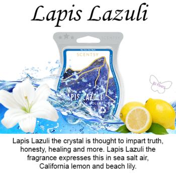 Lapis Lazuli Scentsy Wax Melt