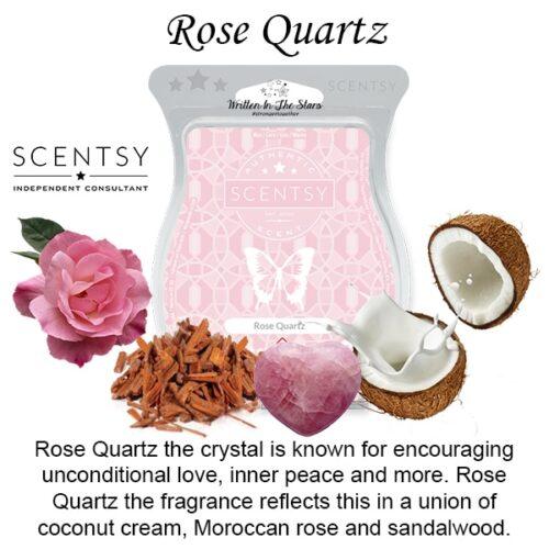 Rose Quartz Scentsy Bar