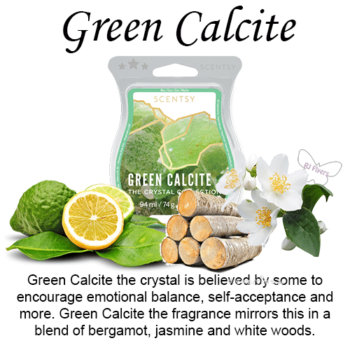 Green Calcite Scentsy Wax Melt