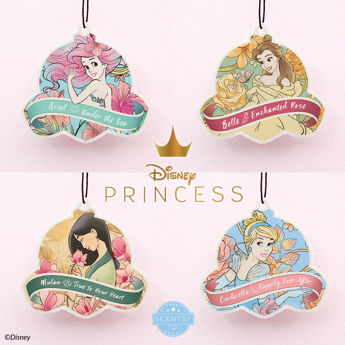 New from Scentsy, The Disney Collection. Embrace your inner princess. Who's your favourite? Shop our four new Princess fragrances as part of The Disney Collection!