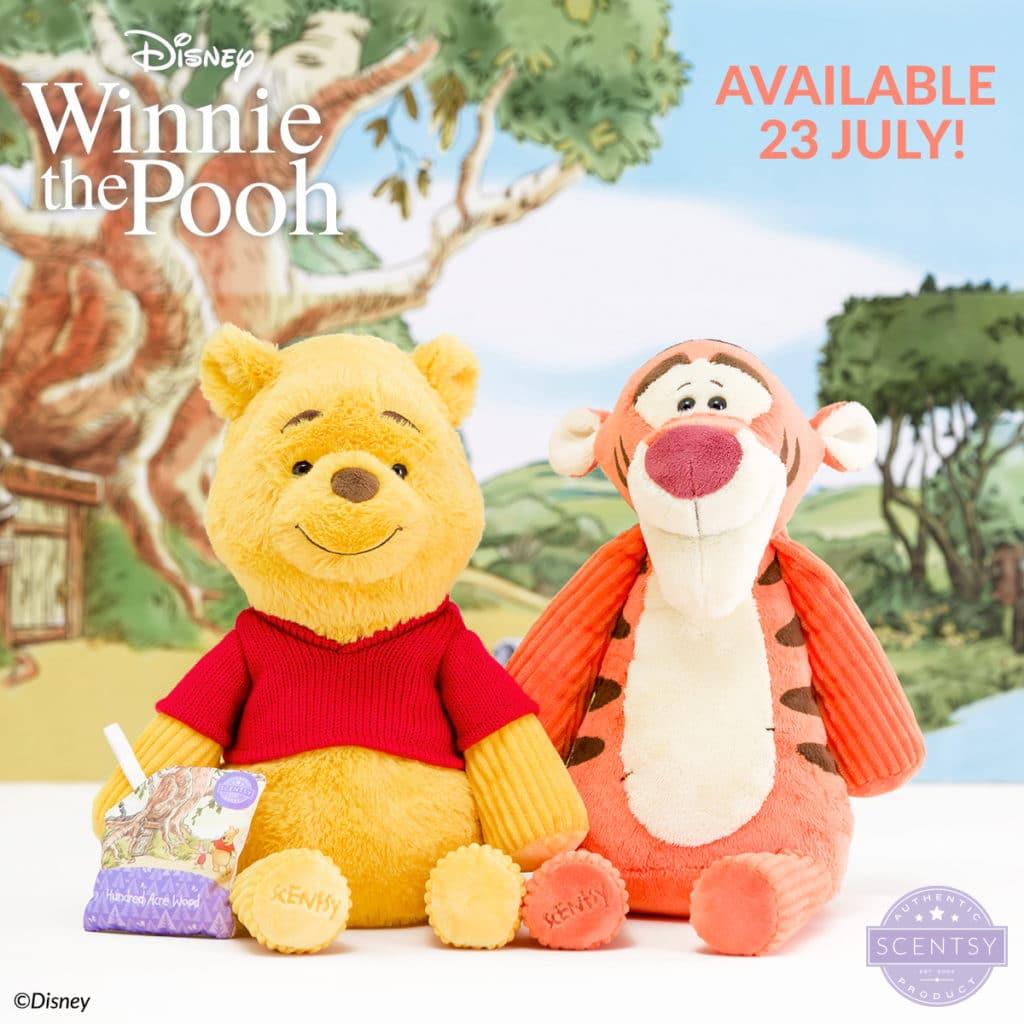 Scentsy Tigger & Winnie The Pooh