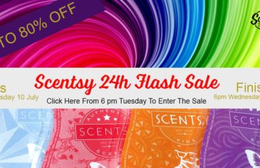 Scentsy Summer 24 Hour Flash Sale