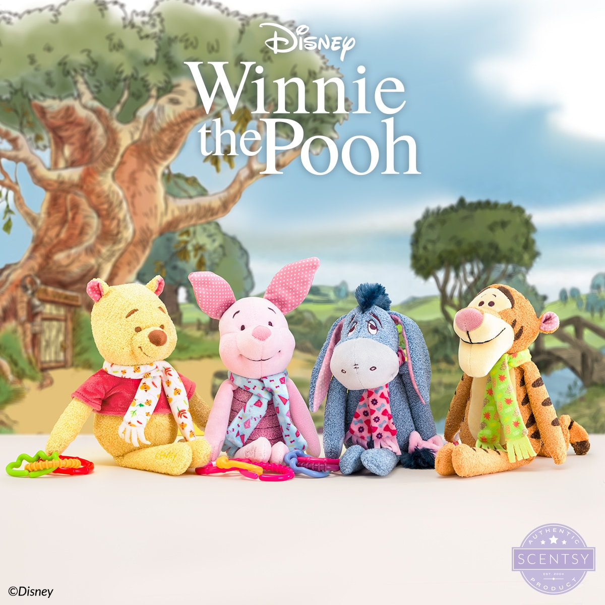 Our Winnie the Pooh – Scentsy Sidekick is the perfect pal for any little one! Shop all four of your favourite Winnie the Pooh characters in The Disney Collection starting Sept. 1.