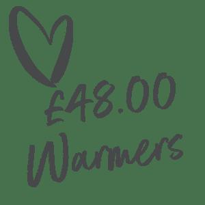 £48.00 Warmers