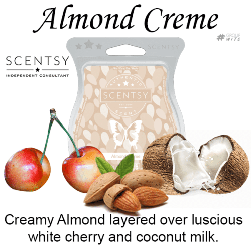Almond Creme Scentsy Scented Wax Bar