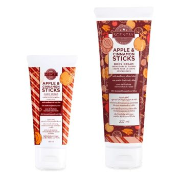 Apple & Cinnamon Sticks Hand Cream & Body Cream Bundle