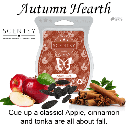 Autumn Hearth Scentsy Scented Wax Bar