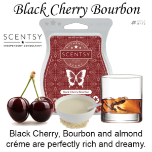 Black Cherry Bourbon Scentsy Scented Wax Bar