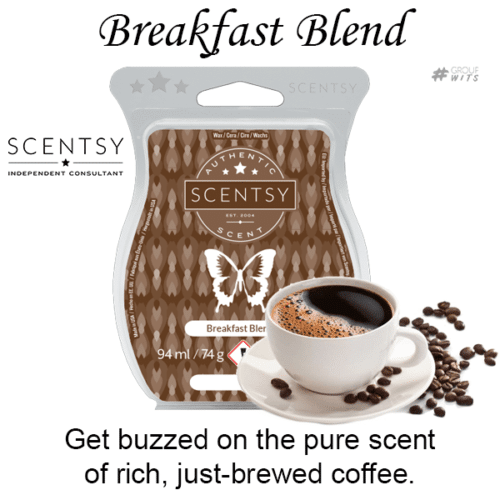 Breakfast Blend Scentsy Scented Wax Bar