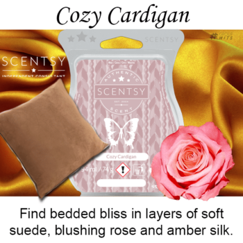 Cozy Cardigan Scentsy Scented Wax Bar