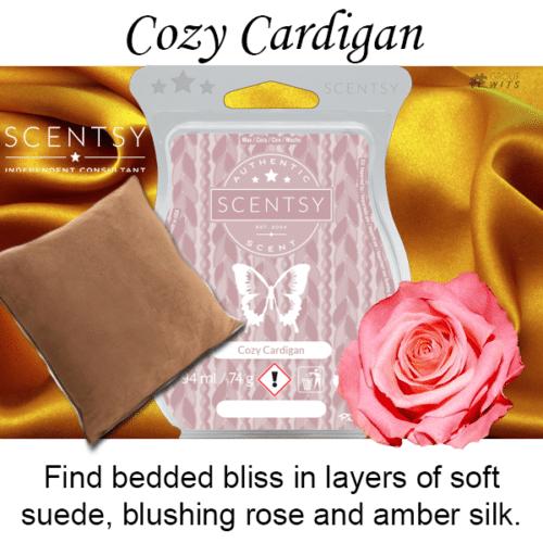 Cozy Cardigan Scentsy Scented Wax Bar