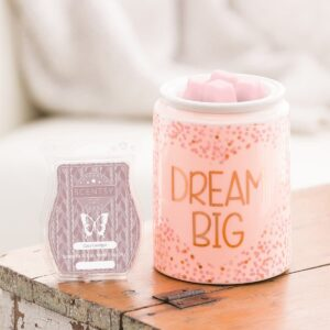 Dream Sparkle Scentsy Warmer Styled
