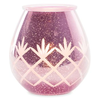 Etched Lilac Scentsy Warmer