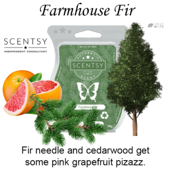 Farmhouse Fir Scentsy Scented Wax Bar