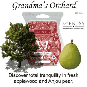 Grandma's Orchard Scentsy Scented Wax Bar