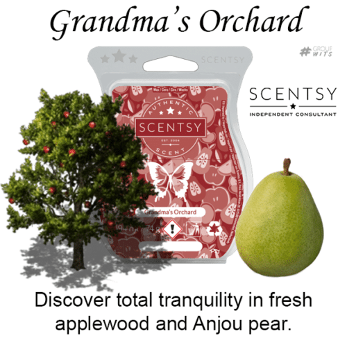Grandma's Orchard Scentsy Scented Wax Bar
