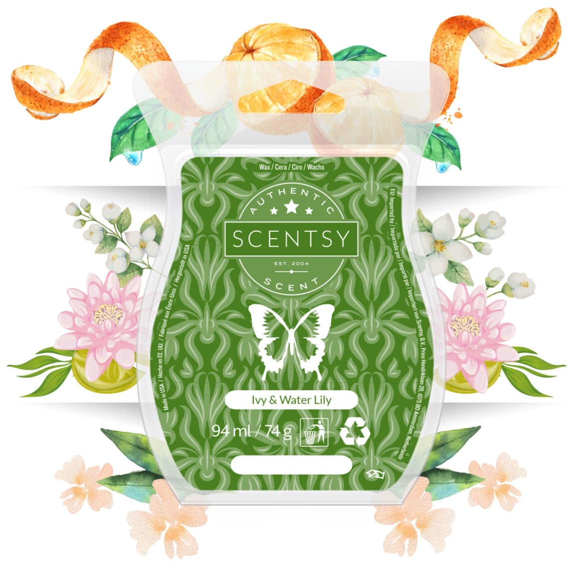 Ivy & Water Lily September Scent of the Month