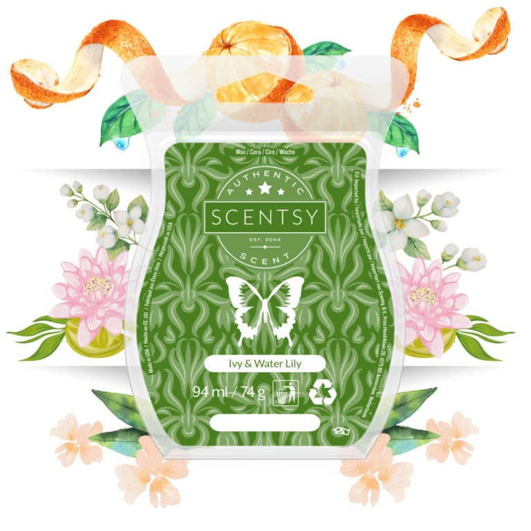 Ivy & Water Lily is September Scent of the Month