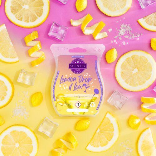 Lemon Drop It Low Scentsy Bar
