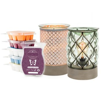 Perfect Scentsy – 2 x £55 Warmer & 6 Bar