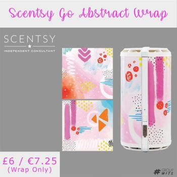 Scentsy Go Abstract Wrap UK and Europe