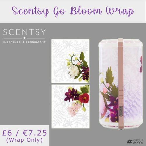 Scentsy Go Bloom Wrap UK and Europe