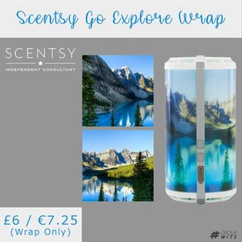 Scentsy Go Explore Wrap UK and Europe