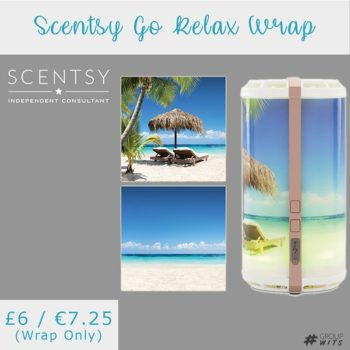Scentsy Go Relax Wrap UK and Europe