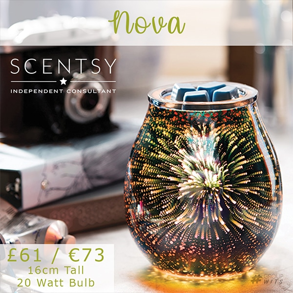 Nova Scentsy Warmer The Candle Boutique Scentsy Uk