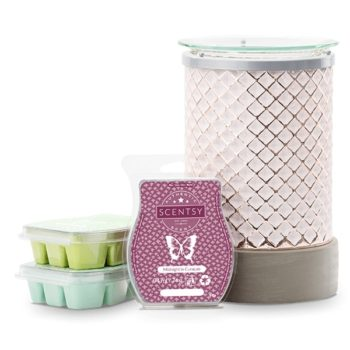 Scentsy System – 1 x £55 Warmer & 3 Bar Multi-Pack