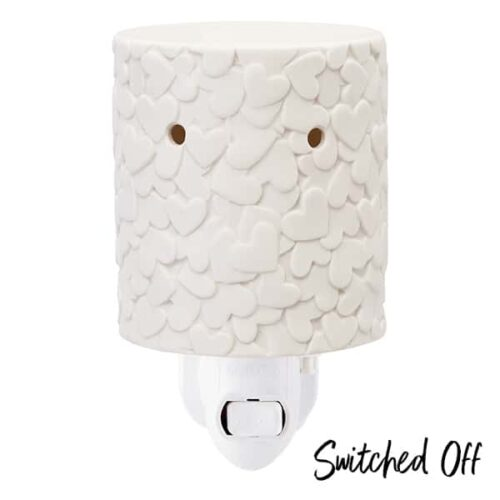 Share Your Heart Scentsy Plugin Mini Warmer Switced Off