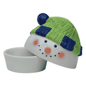 Snowman Scentsy Warmer Dish