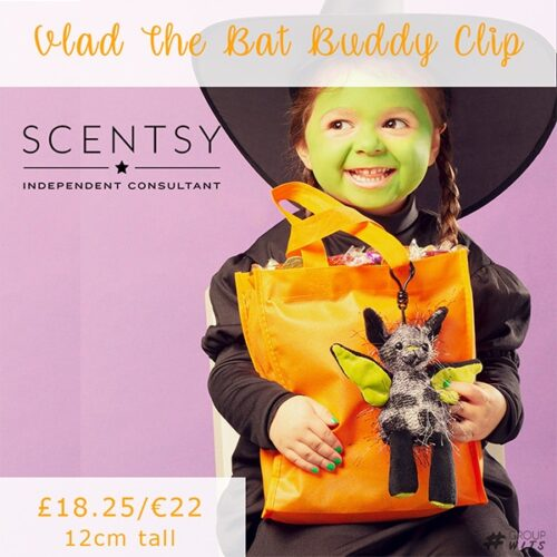 Vlad The Bat Buddy Clip UK and Europe
