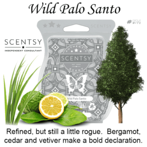 Wild Palo Santo Scentsy Scented Wax Bar