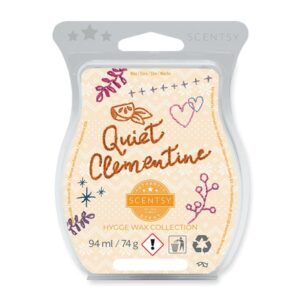 Quiet Clementine Scentsy Bar