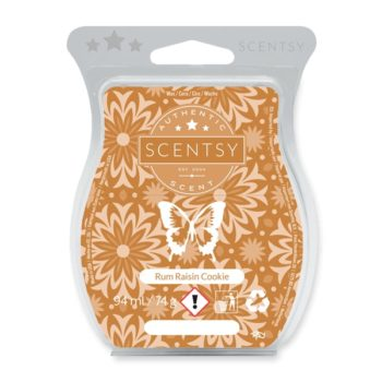 Rum Raisin Cookie Scentsy Bar