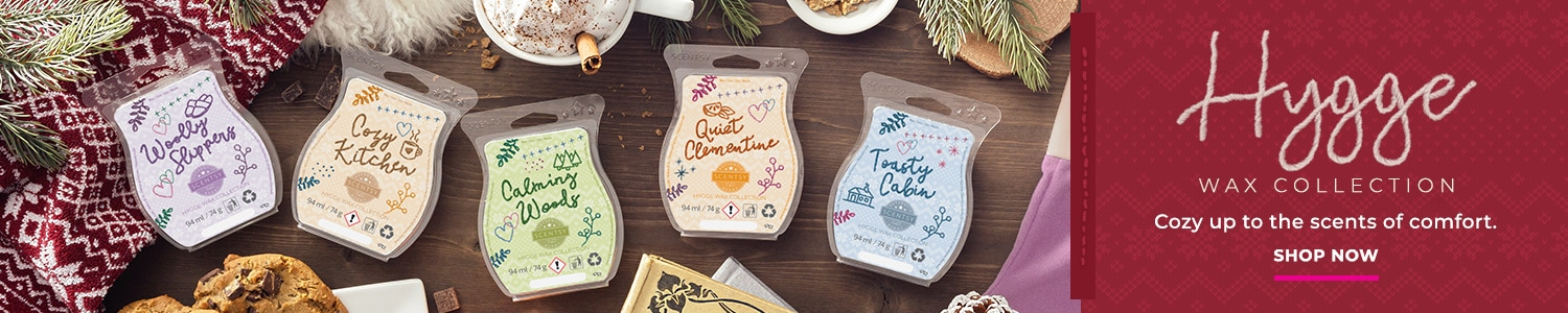 Scentsy Hygge Wax Collection
