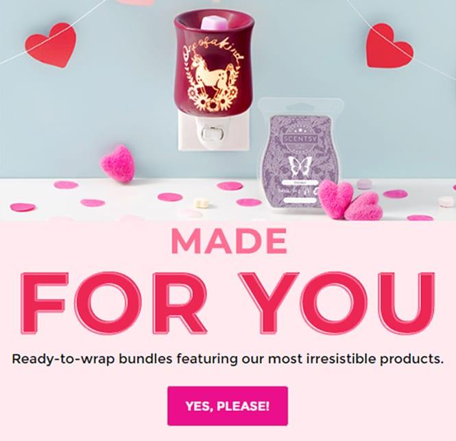 Scentsy Valentines Day Gift Bundles