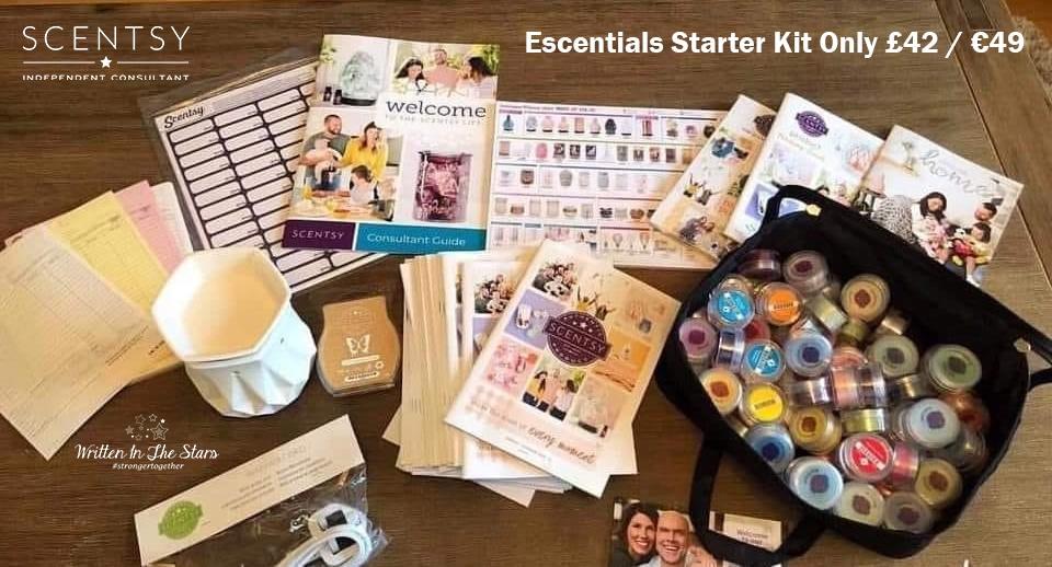 Escentials Starter Kit Only £42 / €49