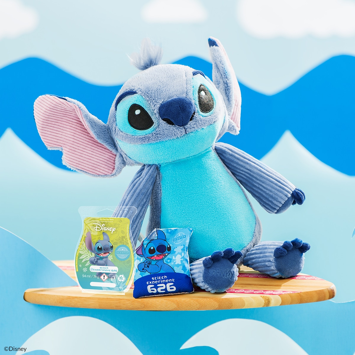 Stitch – Scentsy Buddy and Experiment 626 Bar Bundle
