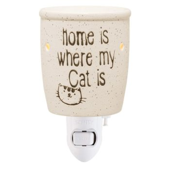 Home Is Where My Cat Is Plug-in Mini Warmer