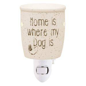 Home Is Where My Dog Is Plug-in Mini Warmer