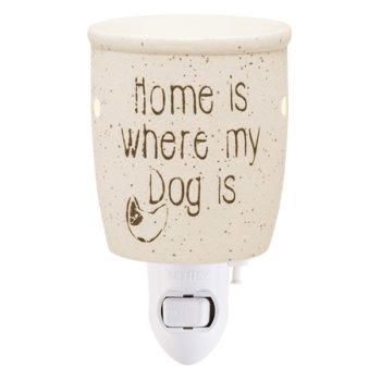 Home Is Where My Dog Is Plug-in Mini Warmer