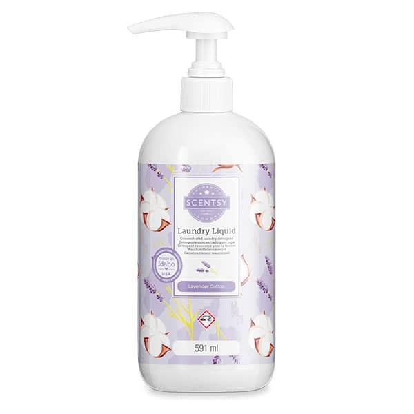 Lavender Cotton Scentsy Laundry Liquid