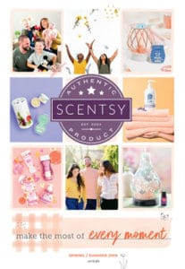 New Scentsy Spring Summer 2019 Catalogue