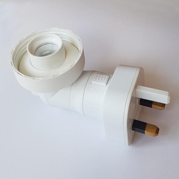 Scentsy Plugin Mini Base For Glass Shade UK 3-Pin Plug