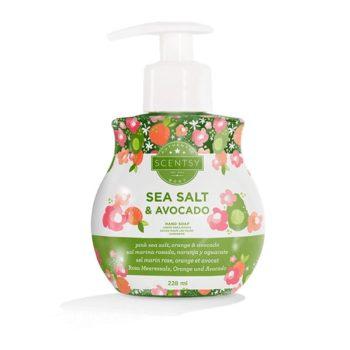 Sea Salt & Avocado Hand Soap